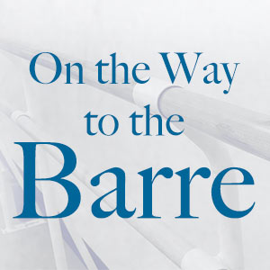 Read On the Way to the Barre